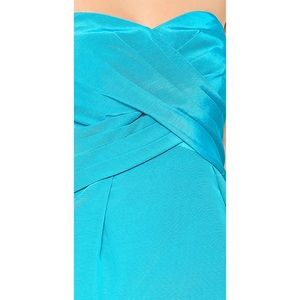 Shoshanna Dresses - SHOSHANNA TURQUOISE KIRA STRAPLESS DRESS SZ 2 $308